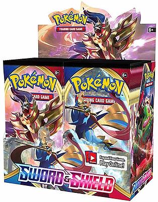 Einfach und sicher online bestellen: Pokemon Sword and Shield Booster Display in Österreich kaufen.