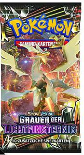 Einfach und sicher online bestellen: Pokemon Sonne und Mond 6 Booster in Österreich kaufen.