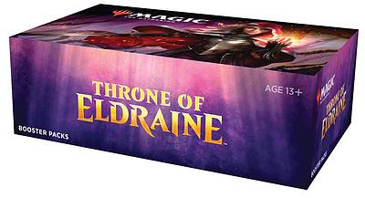 Einfach und sicher online bestellen: MTG Throne of Eldraine Booster Display in Österreich kaufen.