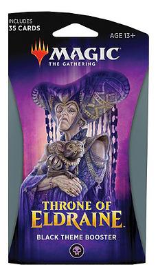Einfach und sicher online bestellen: MTG Throne of Eldraine Theme Booster in Österreich kaufen.
