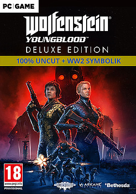 Einfach und sicher online bestellen: Wolfenstein: Youngblood Deluxe Edition (Download) in Österreich kaufen.