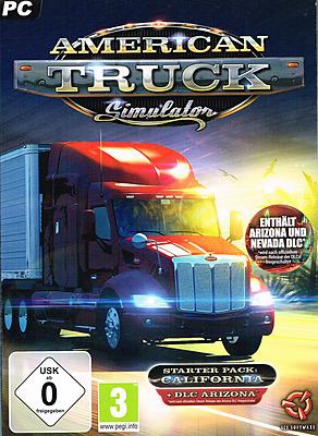 Einfach und sicher online bestellen: American Truck Simulator California Starter Pack in Österreich kaufen.