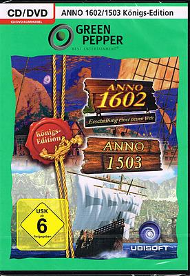 Einfach und sicher online bestellen: Anno 1602 / 1503 Königs-Edition in Österreich kaufen.