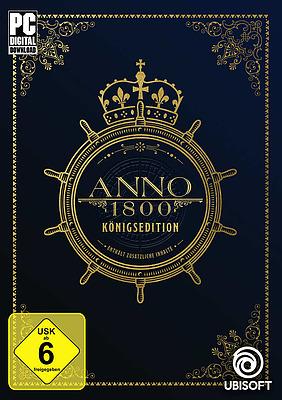Einfach und sicher online bestellen: Anno 1800 Königsedition in Österreich kaufen.