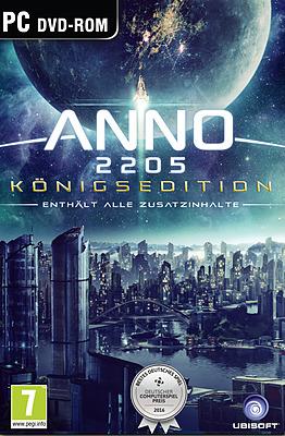 Einfach und sicher online bestellen: Anno 2205 Königsedition (AT-PEGI) in Österreich kaufen.