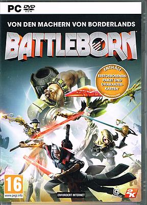 Einfach und sicher online bestellen: Battleborn + DLC (AT-PEGI) in Österreich kaufen.