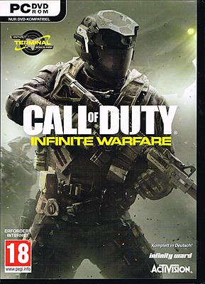 Einfach und sicher online bestellen: Call of Duty: Infinite Warfare + 4 DLCs (AT-PEGI) in Österreich kaufen.