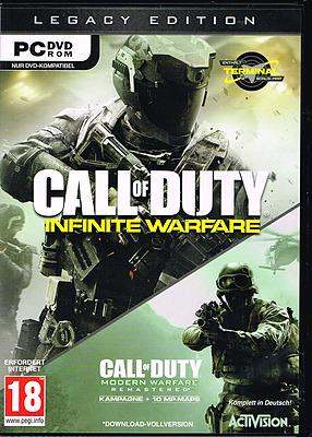 Einfach und sicher online bestellen: Call of Duty: Infinite Warfare Legacy Edition (AT) in Österreich kaufen.