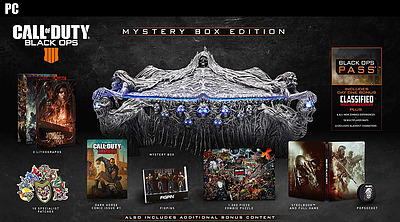 Einfach und sicher online bestellen: Call of Duty: Black Ops 4 Mystery Box Edition in Österreich kaufen.