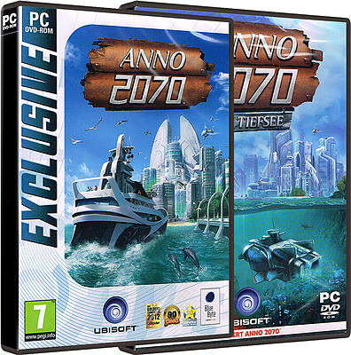 Einfach und sicher online bestellen: Anno 2070 inkl. Die Tiefsee Add-On (AT-PEGI) in Österreich kaufen.