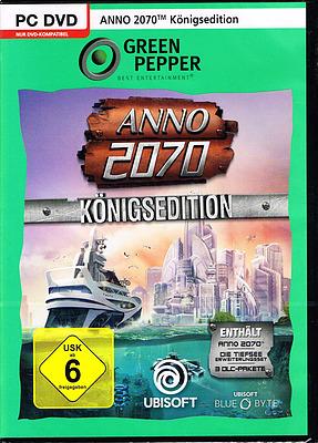 Einfach und sicher online bestellen: Anno 2070 Königsedition in Österreich kaufen.