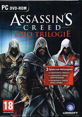 Einfach und sicher online bestellen: Assassins Creed: Ezio-Trilogie (AT-PEGI) in Österreich kaufen.