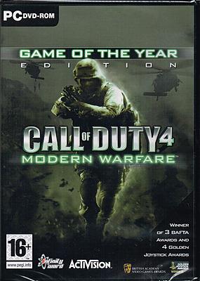 Einfach und sicher online bestellen: Call of Duty 4: Modern Warfare GOTY Edition (Eng) in Österreich kaufen.