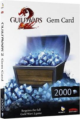 Einfach und sicher online bestellen: Guild Wars 2 Gem Card (2000 Gems) in Österreich kaufen.