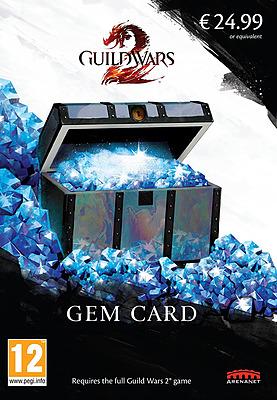 Einfach und sicher online bestellen: Guild Wars 2 Gem Card (2017) in Österreich kaufen.
