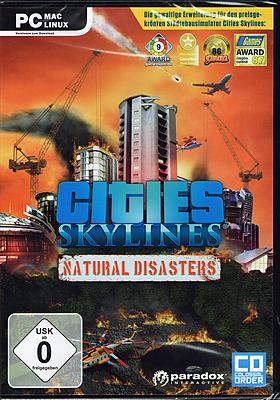Einfach und sicher online bestellen: Cities Skylines Natural Disasters in Österreich kaufen.