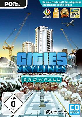 Einfach und sicher online bestellen: Cities Skylines Snowfall in Österreich kaufen.