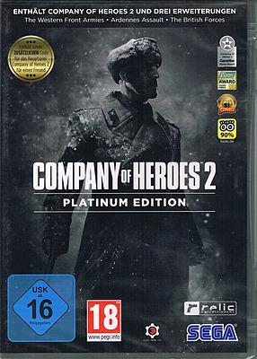 Einfach und sicher online bestellen: Company of Heroes 2 Platinum Edition in Österreich kaufen.