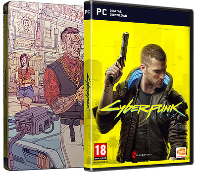 Einfach und sicher online bestellen: Cyberpunk 2077 Day 1 Edition inkl. Steelbook (AT) in Österreich kaufen.