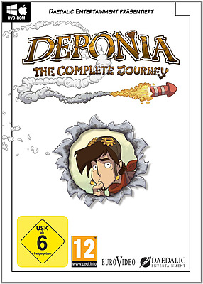 Einfach und sicher online bestellen: Deponia - The Complete Journey in Österreich kaufen.