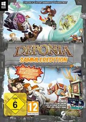 Einfach und sicher online bestellen: Deponia Sammler Edition in Österreich kaufen.