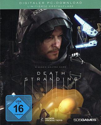 Einfach und sicher online bestellen: Death Stranding Deluxe Steelbook Edition + 10 Boni in Österreich kaufen.