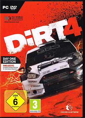 Einfach und sicher online bestellen: DiRT 4 D1 Edition + 3 DLCs in Österreich kaufen.