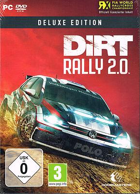Einfach und sicher online bestellen: Dirt Rally 2.0 Deluxe Edition + 8 Boni + Steelbook in Österreich kaufen.