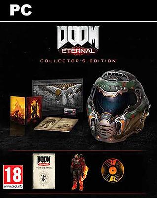 Einfach und sicher online bestellen: DOOM Eternal Collectors Edition mit 11 Boni in Österreich kaufen.