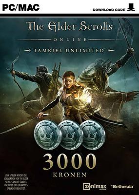 Einfach und sicher online bestellen: The Elder Scrolls Online 3000 Kronen Karte in Österreich kaufen.