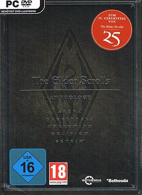 Einfach und sicher online bestellen: The Elder Scrolls Anthology 25th Anniversary Edi. in Österreich kaufen.