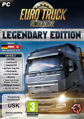 Einfach und sicher online bestellen: Euro Truck-Simulator 2: Legendary Edition in Österreich kaufen.
