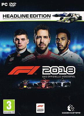 Einfach und sicher online bestellen: F1 2018 Headline Edition + 2 DLCs (AT-PEGI) in Österreich kaufen.