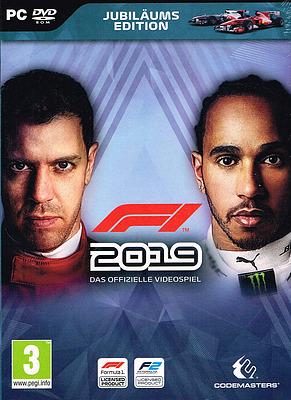 Einfach und sicher online bestellen: F1 2019 Jubiläums Edition + 2 DLCs (AT-PEGI) in Österreich kaufen.