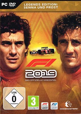 Einfach und sicher online bestellen: F1 2019 Legends Edition + 2 DLCs in Österreich kaufen.