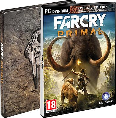 Einfach und sicher online bestellen: Far Cry Primal Special Day 1 Steelbook Edition(AT) in Österreich kaufen.
