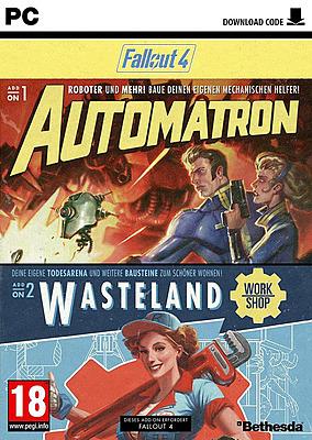 Einfach und sicher online bestellen: Fallout 4 DLCs: Automatron & Wasteland Workshop in Österreich kaufen.