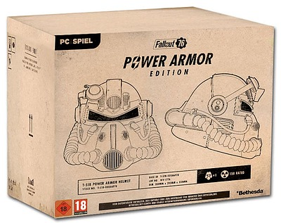 Einfach und sicher online bestellen: Fallout 76 Collectors Edition + B.E.T.A. (AT-PEGI) in Österreich kaufen.