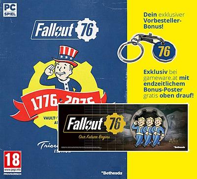 Einfach und sicher online bestellen: Fallout 76 Tricentennial Edition + 10 DLCs (AT) in Österreich kaufen.