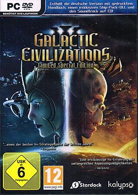 Einfach und sicher online bestellen: Galactic Civilizations III Limited Special Edition in Österreich kaufen.
