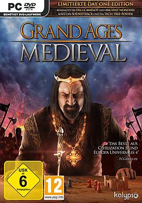 Einfach und sicher online bestellen: Grand Ages Medieval Limitierte D1 Edition + 2 DLCs in Österreich kaufen.