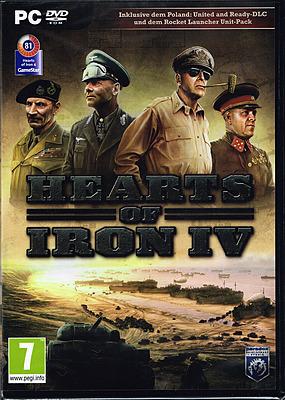 Einfach und sicher online bestellen: Hearts of Iron 4 + DLC (AT-PEGI) in Österreich kaufen.