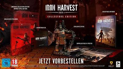 Einfach und sicher online bestellen: Iron Harvest Collectors Edition in Österreich kaufen.