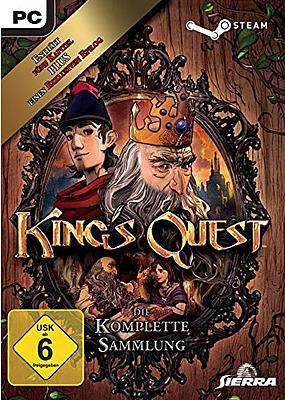 Einfach und sicher online bestellen: Kings Quest - Die komplette Sammlung in Österreich kaufen.