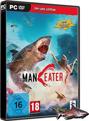 Einfach und sicher online bestellen: Maneater Day One Edition + Tiger Hai Evolution DLC in Österreich kaufen.