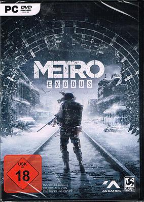Einfach und sicher online bestellen: Metro Exodus + 3 Boni (AT-PEGI) in Österreich kaufen.