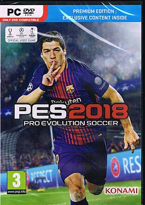 Einfach und sicher online bestellen: Pro Evolution Soccer 2018 Premium Edition (AT) in Österreich kaufen.