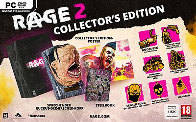 Einfach und sicher online bestellen: Rage 2 Collectors Edition + 11 Boni (AT-PEGI) in Österreich kaufen.