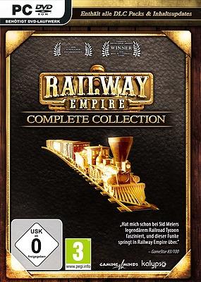 Einfach und sicher online bestellen: Railway Empire Complete Collection in Österreich kaufen.