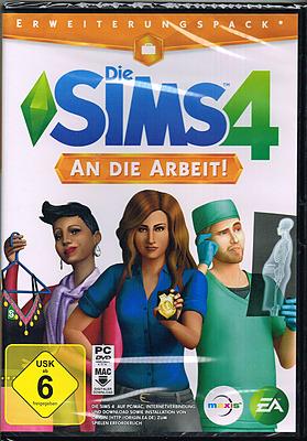 Einfach und sicher online bestellen: Die Sims 4: An die Arbeit Erweiterungspack in Österreich kaufen.